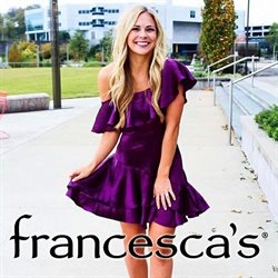 Francesca's deals in the Dallas TX weekly ad