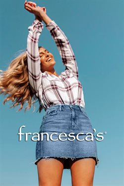 Francesca's deals in the Houston TX weekly ad