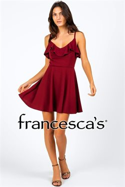 Oakwood Center deals in the Francesca's weekly ad in Gretna LA