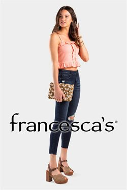 Francesca's catalogue in Houston TX ( More than a month )