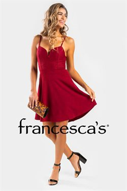 Francesca's catalogue ( 29 days left )