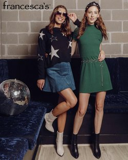 Clothing & Apparel deals in the Francesca's catalog ( Published today)