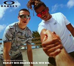 Opticians & Sunglasses deals in the Oakley catalog ( 12 days left)