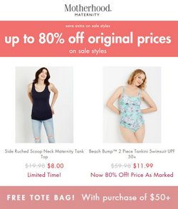 Clothing & Apparel deals in the Destination Maternity catalog ( Published today)