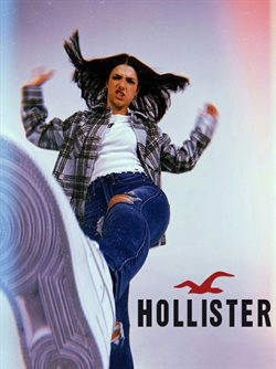 Hollister catalogue in New York ( More than a month )