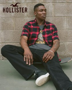 Hollister deals in the Hollister catalog ( More than a month)