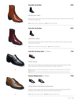 Ankle boots deals in the Florsheim Shoes weekly ad in Daly City CA