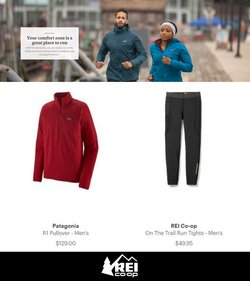 Sports deals in the Rei catalog ( Published today)
