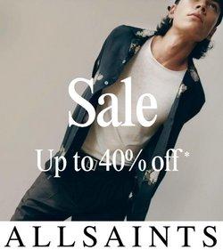 AllSaints Spitalfields deals in the AllSaints Spitalfields catalog ( 5 days left)