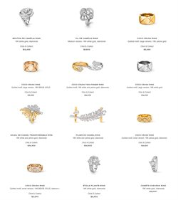 Chanel Fine Jewelry catalogue ( More than a month )