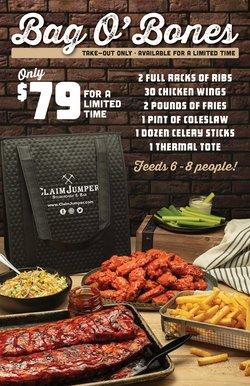 Restaurants deals in the Claim Jumper catalog ( 1 day ago)