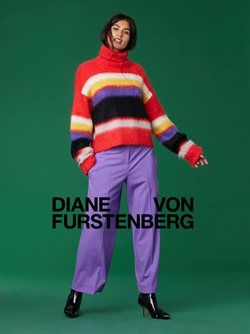 Diane von Furstenberg deals in the New York weekly ad