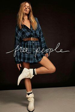 Free People catalogue ( More than a month )