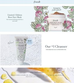 Beauty & Personal Care offers in the Fresh catalogue in Dallas TX ( Expires tomorrow )