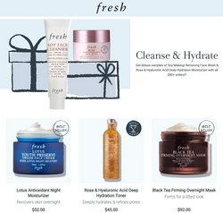 Beauty & Personal Care deals in the Fresh catalog ( 7 days left)