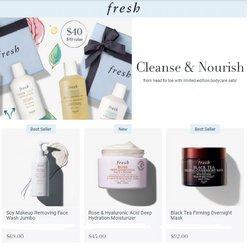 Fresh deals in the Fresh catalog ( Expires tomorrow)