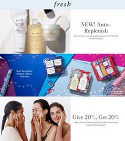 Beauty & Personal Care deals in the Fresh catalog ( Published today)