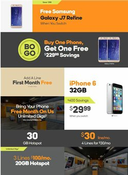 Electronics & Office Supplies deals in the Boost Mobile weekly ad in Livonia MI
