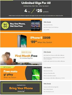 Electronics & Office Supplies deals in the Boost Mobile weekly ad in Cincinnati OH