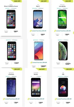Phones deals in the Boost Mobile weekly ad in Poughkeepsie NY