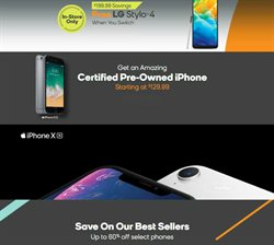 Phones deals in the Boost Mobile weekly ad in Westerville OH