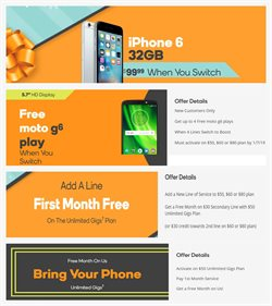 Phones deals in the Boost Mobile weekly ad in Baytown TX