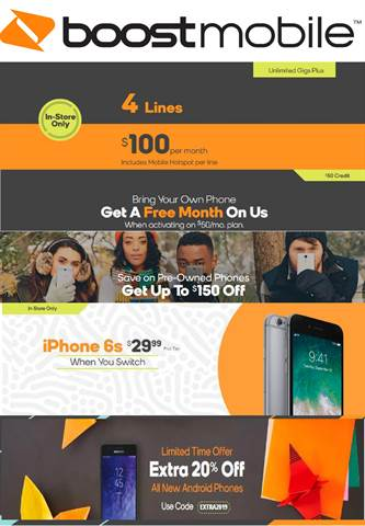 Boost Mobile Fremont MI - 7151 W 48th St | Store Hours & Deals