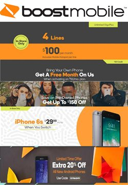 Electronics & Office Supplies deals in the Boost Mobile weekly ad in Columbus OH