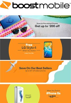 Electronics & Office Supplies deals in the Boost Mobile weekly ad in Miami FL