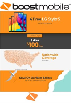 Electronics & Office Supplies deals in the Boost Mobile weekly ad in Sugar Land TX