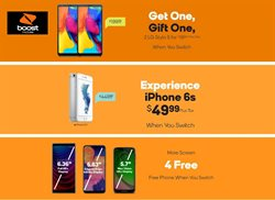 Boost Mobile deals in the Houston TX weekly ad