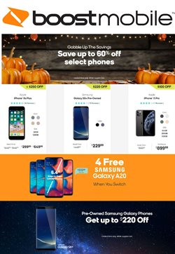 Electronics & Office Supplies deals in the Boost Mobile weekly ad in Austin TX