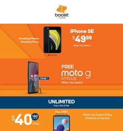 Boost Mobile catalog ( Expired)