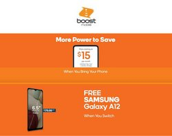 Samsung deals in the Boost Mobile catalog ( 4 days left)