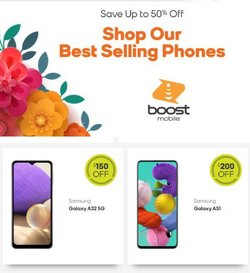 Electronics & Office Supplies deals in the Boost Mobile catalog ( 3 days left)