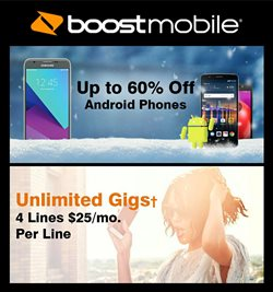Electronics & Office Supplies deals in the Boost Mobile weekly ad in Hot Springs National Park AR