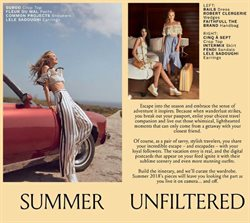 Earrings deals in the Intermix weekly ad in New York