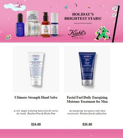Beauty & Personal Care deals in the Kiehl's catalog ( Published today)