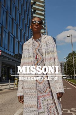 Luxury brands deals in the Missoni catalog ( More than a month)