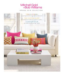 Mitchell Gold + Bob Williams deals in the Chicago IL weekly ad