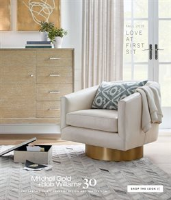 Home & Furniture deals in the Mitchell Gold + Bob Williams weekly ad in Iowa City IA