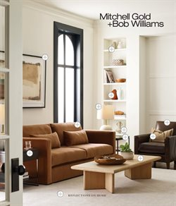 Home & Furniture offers in the Mitchell Gold + Bob Williams catalogue in Baton Rouge LA ( 2 days left )