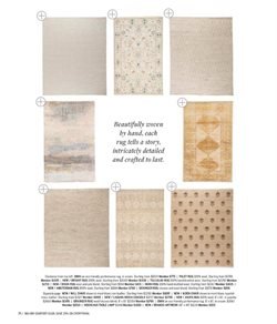 Rug deals in Mitchell Gold + Bob Williams