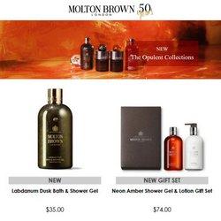 Molton Brown deals in the Molton Brown catalog ( Expires tomorrow)