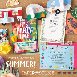Gifts & Crafts deals in the Paper Source catalog ( 14 days left)