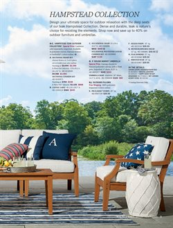 Table deals in the Pottery Barn weekly ad in Garden Grove CA