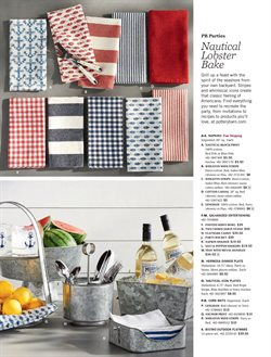 Grill deals in the Pottery Barn weekly ad in New York