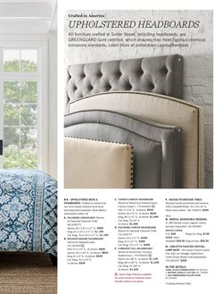Bed deals in the Pottery Barn weekly ad in New York