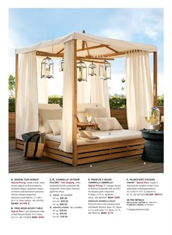 Candle deals in the Pottery Barn weekly ad in New York