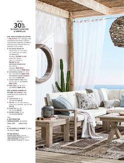 Pillow deals in the Pottery Barn weekly ad in New York